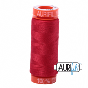 Aurifil 50 Cotton Thread - 2250 (Red)